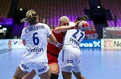 Kathrine Heindahl. EHF Euro 2020 Group A match between France and Denmark in Jyske Bank Boxen, Herning, Denmark on December 8, 2020. Photo Credit: Allan Jensen/EVENTMEDIA.