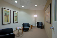 Interior Design Photographer of Washington DC Image of waiting room at downtown offices of Ain and Bank Law Firm by Jeffrey Sauers of Commercial Photographics