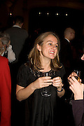 NICOLA JEAL, party to celebrate the 100th issue of Granta magazine ( guest edited by William Boyd.) hosted by Sigrid Rausing and Eric Abraham. Twentieth Century Theatre. Westbourne Gro. London.W11  15 January 2008. -DO NOT ARCHIVE-© Copyright Photograph by Dafydd Jones. 248 Clapham Rd. London SW9 0PZ. Tel 0207 820 0771. www.dafjones.com.
