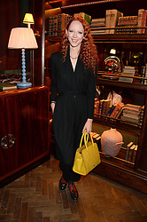 MORWENNA LYTTON COBBOLD at the launch of Rosewood London - a new luxury hotel at 252 High Holborn, London WC1 on 30th October 2013.