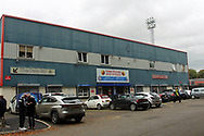 Crown Oil Arena during the EFL Sky Bet League 1 match between Rochdale and Gillingham at Spotland, Rochdale, England on 23 September 2017. Photo by Daniel Youngs.