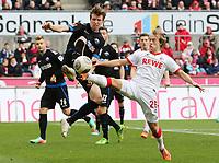 ^Bard Finne (1. FC Köln 26) im Zweikampf gegen Patrick Ziegler (SC Paderborn 5), Aktion, Action 1. FC Köln vs SC Paderborn --- Fussball --- 2.Bundesliga --- 09.02.2014 Foto Eibner EP_BSR<br /> <br /> Fin 1 FC Cologne 26 in duel against Patrick Ziegler SC Paderborn 5 Action shot Action 1 FC Cologne vs SC Paderborn Football 2 Bundesliga 09 02 2014 Photo Eibner