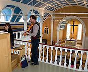 Blue Church Seydisfjordur Iceland 6_13_09