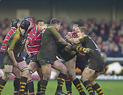 Gloucester, Gloucestershire, UK., 04.01.2003,  action from, Zurich Premiership Rugby match, Gloucester vs London Wasps,  Kingsholm Stadium,  [Mandatory Credit: Peter Spurrier/Intersport Images],