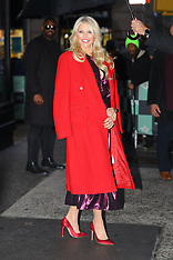 Christie Brinkley is all smiling while leaving the AOL Build studios - 29 Jan 2019