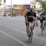 El Tour de Tucson 2012 finishers heading up 6th Avenue. Bike-tography by Martha Retallick.