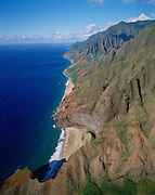 Napali Coast, Kauai, Hawaii, USA<br />