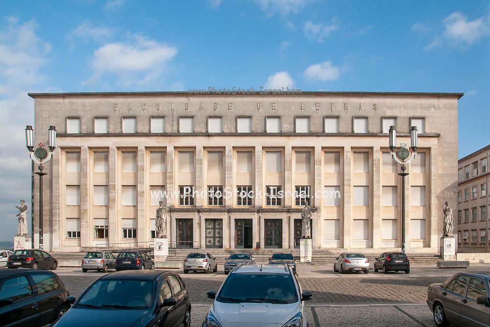 Faculty of Arts (faculdade de Letras) at the university of Coimbra, Coimbra, Portugal