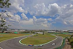 Esteban Ocon (FRA) Manor Racing, Nico Rosberg (GER) Mercedes AMG F1  <br /> 11.11.2016. Formula 1 World Championship, Rd 20, Brazilian Grand Prix, Sao Paulo, Brazil, Practice Day.<br /> Copyright: Charniaux / XPB Images / action press