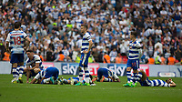 Football - 2016 / 2017 Championship Playoff Final: Reading vs. Huddersfield<br /> <br /> Reading players after the final missed penalty consigned them to another year in the championship at Wembley Stadium.<br /> <br /> COLORSPORT/DANIEL BEARHAM