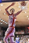 DESCRIZIONE : Campionato 2014/15 Serie A Beko Grissin Bon Reggio Emilia -  Dinamo Banco di Sardegna Sassar Finale Playoff Gara1<br /> GIOCATORE : Achille Polonara<br /> CATEGORIA : Schiacciata Sequenza<br /> SQUADRA : Grissin Bon Reggio Emilia<br /> EVENTO : LegaBasket Serie A Beko 2014/2015<br /> GARA : Grissin Bon Reggio Emilia - Dinamo Banco di Sardegna Sassari Finale Playoff Gara1<br /> DATA : 14/06/2015<br /> SPORT : Pallacanestro <br /> AUTORE : Agenzia Ciamillo-Castoria/GiulioCiamillo