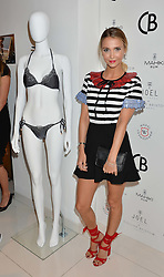 SOPHIE HERMANN at the launch for the collaboration of Joel Swimwear for Collier Bristow held at Collier Bristow, 61 King's Road, Chelsea, London on 11th August 2016.