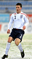 Fotball<br /> 27 mars 2009<br /> Landskamp<br /> Norge U21 - England U21<br /> Craig Gardner , England<br /> Foto: Reidar Talset , Digitalsport
