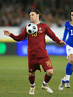 Fotball<br /> Foto: DPPI/Digitalsport<br /> NORWAY ONLY<br /> <br /> FOOTBALL - FRIENDLY GAME 2007/2008 - ITALY v PORTUGAL - 06/02/2008 - MANICHE (POR) <br /> <br /> Italia v Portugal