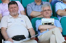 Dr. Marko Ilesic and Pavle Gantar at final match of 2nd SNL league between NK Olimpija in NK Aluminij, on May 23, 2009, ZAK, Ljubljana, Slovenia. Aluminij won 2:1. NK Olimpija is a Champion of 2nd SNL and thus qualified to 1st Slovenian football league for season 2009/2010. (Photo by Vid Ponikvar / Sportida)