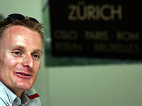 Andre Bucher waehrend der Medienorientierung. © Valeriano Di Domenico/EQ Images