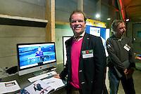 UTRECHT -  Auke Hempenius (Genius Golf)  , A tribe called Golf, de kracht van de connectie. Nationaal Golf Congres van de NVG 2014 , Nederlandse Vereniging Golfbranche. COPYRIGHT KOEN SUYK