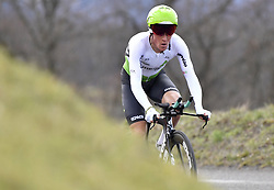 March 7, 2018 - Saint Etienne, France - SAINT-ETIENNE, FRANCE - MARCH 7 : PAUWELS Serge  (BEL)  of Team Dimension Data during stage 4 of the 2018 Paris - Nice cycling race, an individual time trial over 18,4 km from La Fouillouse to Saint-Etienne on March 07, 2018 in Saint-Etienne, France, 07/03/2018 (Credit Image: © Panoramic via ZUMA Press)