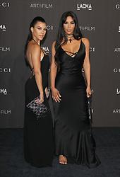 2018 LACMA ART+FILM Gala. 03 Nov 2018 Pictured: Kourtney Kardashian, Kim Kardashian West. Photo credit: Jaxon / MEGA TheMegaAgency.com +1 888 505 6342