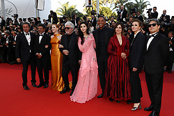 Jury members Paolo Sorrentino, Gabriel Yared and Jessica Chastain, President of the jury Pedro Almodovar and jury members Fan Bingbing, Will Smith, Agnes Jaoui, Maren Ade and Park Chan-wook attend the 70th Anniversary of the 70th annual Cannes Film Festival at Palais des Festivals on May 23, 2017 in Cannes, France. Photo by Shootpix/ABACAPRESS.COM