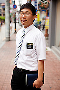 Portrait of a preacher working in Daegu. Daegu, also known as Taegu and officially the Daegu Metropolitan City, is the third largest metropolitan area in South Korea, and by city limits, the fourth largest city with over 2.5 million people. The IAAF World Championships in Athletics will take place in Daegu from the 27th of August till the 4th of September 2011.