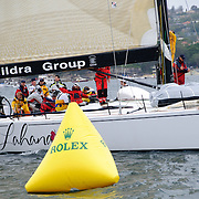 Start of the 2009 Rolex Sydney to Harbour Yacht Race in Sydney Harbour