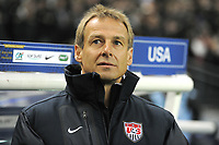 FOOTBALL - INTERNATIONAL FRIENDLY GAMES 2011/2012 - FRANCE v USA - 11/11/2011 - PHOTO JEAN MARIE HERVIO / DPPI - JURGEN  KLINSMANN (COACH USA)