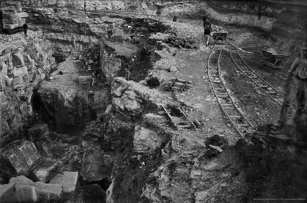 Quarries, Portland, England, 1932