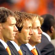 NLD/Amsterdam/20051012 - WK kwalificatiewedstrijd Nederland - Macedonie, John van 't Schip