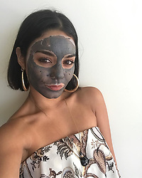 """Vanessa Hudgens releases a photo on Instagram with the following caption: """"Looooove @glamglow Supermud #glambassador"""". Photo Credit: Instagram *** No USA Distribution *** For Editorial Use Only *** Not to be Published in Books or Photo Books ***  Please note: Fees charged by the agency are for the agency's services only, and do not, nor are they intended to, convey to the user any ownership of Copyright or License in the material. The agency does not claim any ownership including but not limited to Copyright or License in the attached material. By publishing this material you expressly agree to indemnify and to hold the agency and its directors, shareholders and employees harmless from any loss, claims, damages, demands, expenses (including legal fees), or any causes of action or allegation against the agency arising out of or connected in any way with publication of the material."""