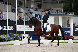 Ruwe Philipp, GER, Touchdown<br /> Longines FEI/WBFSH World Breeding Dressage Championships for Young Horses - Ermelo 2017<br /> © Hippo Foto - Dirk Caremans<br /> 03/08/2017