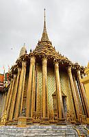 Grand Palace, Phra Mondhop, Bangkok Thailand.
