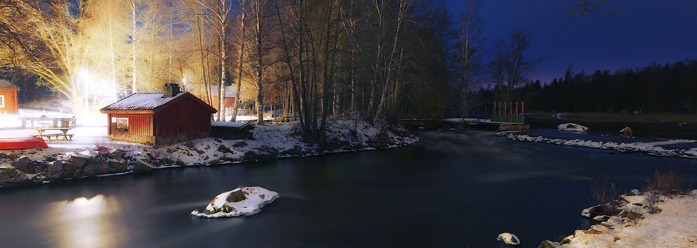 Bergslagskanal, Lunedet, Sweden.