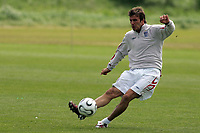 Photo: Paul Thomas.<br /> England Training Session. 01/06/2006.<br /> <br /> David Beckham.