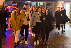 © Licensed to London News Pictures. 17/05/2021. London, UK. Members of the public make the most of Monday night out as pubs and restaurants welcome customers back indoors for the first time in months as vivid regulations are relaxed. Photo credit: Marcin Nowak/LNP