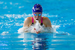 Siobhan-Marie O'Connor of Bath University wins her heat of the Womens Open 200m Individual Medlay - Photo mandatory by-line: Rogan Thomson/JMP - 07966 386802 - 16/04/2015 - SPORT - SWIMMING - The London Aquatics Centre, England - Day 3 - British Swimming Championships 2015.