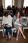 ALEX SHULMAN, Julian Macdonald fashion show. Banqueting House. London. 19 September 2010. -DO NOT ARCHIVE-© Copyright Photograph by Dafydd Jones. 248 Clapham Rd. London SW9 0PZ. Tel 0207 820 0771. www.dafjones.com.