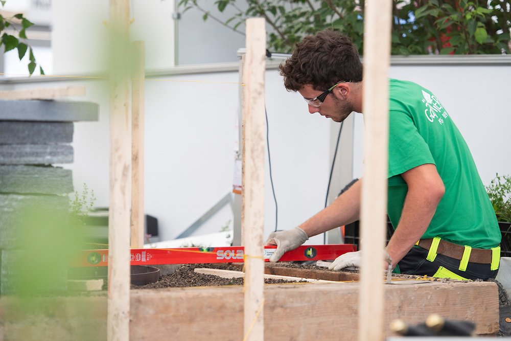12. September 2018; Bern; SwissSkills 2018  - 3. Tag -  Gaertner/in EFZ / Horticulteur CFC / Horticultrice CFC / Giardiniere (AFC) / Giardiniera (AFC) / JardinSuisse - Unternehmerverband G?rtner Schweiz / JardinSuisse - Association suisse des entreprise horticoles / JardinSuisse - Associazione svizzera Imprenditori giardinieri (Michael Zanghellini)