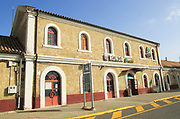 Railway train station building, Ronda, Malaga province, Spain