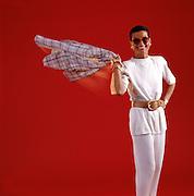 Liz Claiborne, successful fashion designer.