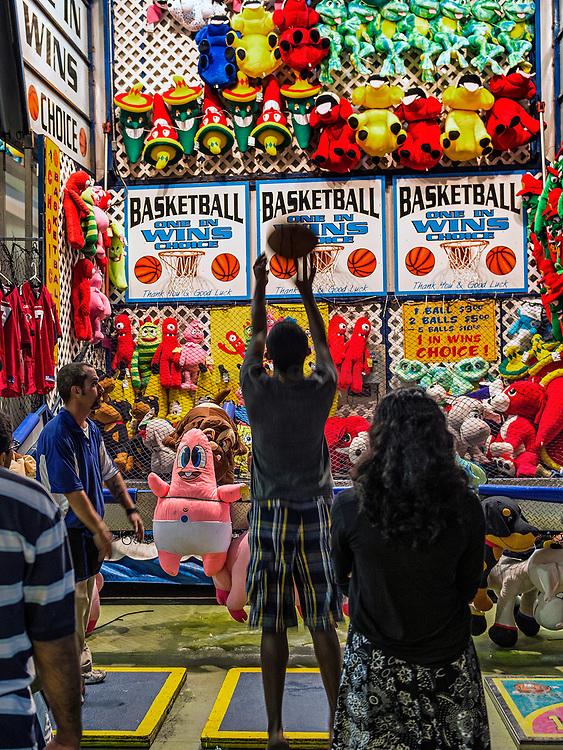 Basketball shoot, Atlantic City, New Jersey, USA