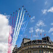 Queen's birthday flypast 2019, London, UK
