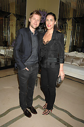 ANTHONY BAILEY and JESSICA DE ROTHSCHILD at the 10th Anniversary Party of the Lavender Trust, Breast Cancer charity held at Claridge's, Brook Street, London on 1st May 2008.<br /><br />NON EXCLUSIVE - WORLD RIGHTS