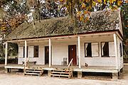 Original slave quarters at Middleton Place Plantation in Charleston, SC.