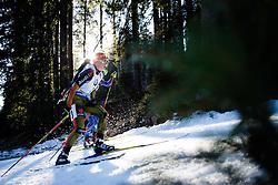 Franziska Hildebrand (GER) during Women 12.5 km Mass Start at day 4 of IBU Biathlon World Cup 2015/16 Pokljuka, on December 20, 2015 in Rudno polje, Pokljuka, Slovenia. Photo by Ziga Zupan / Sportida