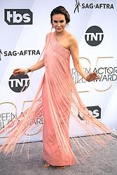 January 27, 2019 - Los Angeles, California, U.S - Keltie Knight at the red carpet of the 25th Annual Screen Actors Guild Awards held at the Shrine Auditorium in Los Angeles, California, Sunday January 27, 2019. (Credit Image: © Prensa Internacional via ZUMA Wire)
