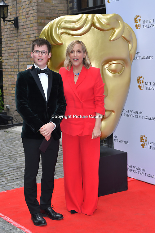 Mel Giedroyc Arrivers at the British Academy Television Craft Awards on 28 April 2019, London, UK.