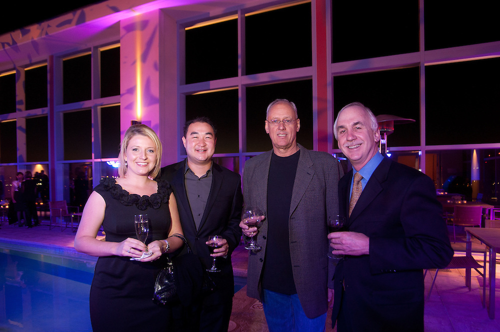 The Four Seasons Residences Austin hosted a party Friday night for current, future and prospective residents. In attendance were Natalie Sullivan, Jason Cheng, Paul Case and David Greis.