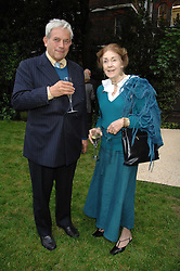 VISCOUNT GAGE and the DOWAGER, MARCHIONESS OF SALISBURY at a reception for the Friends of The Castle of Mey held at The Goring Hotel, London on 20th May 2008.<br /><br />NON EXCLUSIVE - WORLD RIGHTS