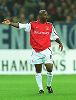 Fotball: Sylvian Wiltord, Arsenal.<br />